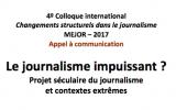 Sur le journalisme